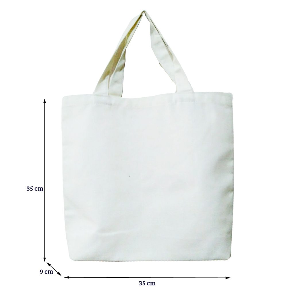 Broken White Totebag